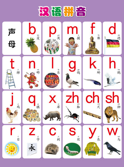 小学一年级汉语拼音辅导资料图片