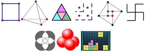 五角星简笔画对称图形