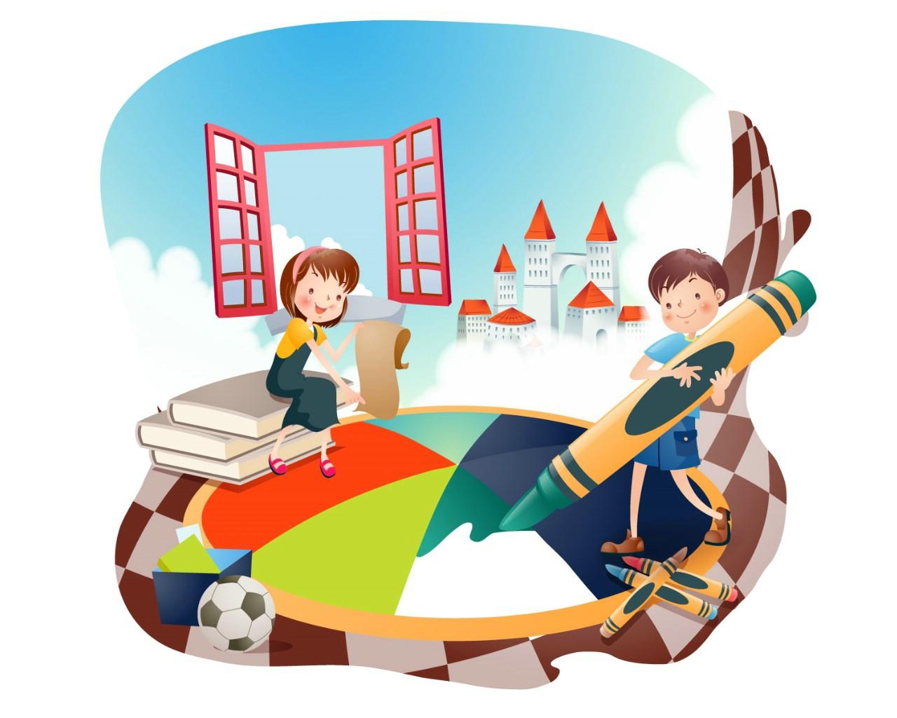 暑假书店活动海报
