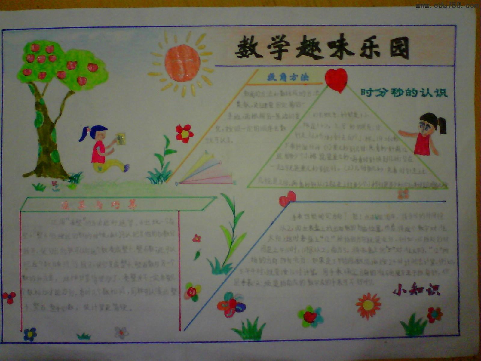 有关数学的名人名言-北京小学数学手抄报资料