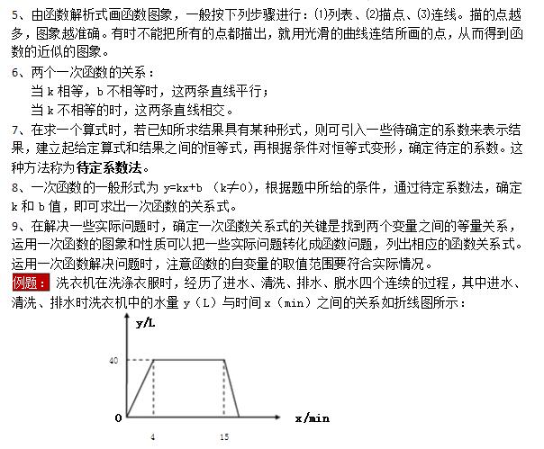 【智康语】开学在即,有很多学校都会在开学之初进行学前检测,不仅考察孩子暑期的学习,也对下个学期的预习做一定的了解。所以在开学之初,对各年级的知识点有一个初步的了解还是有必要的,下面南京爱智康小编为大家整理八年级数学上册各知识点预习——一次函数的图象,供大家参考!
