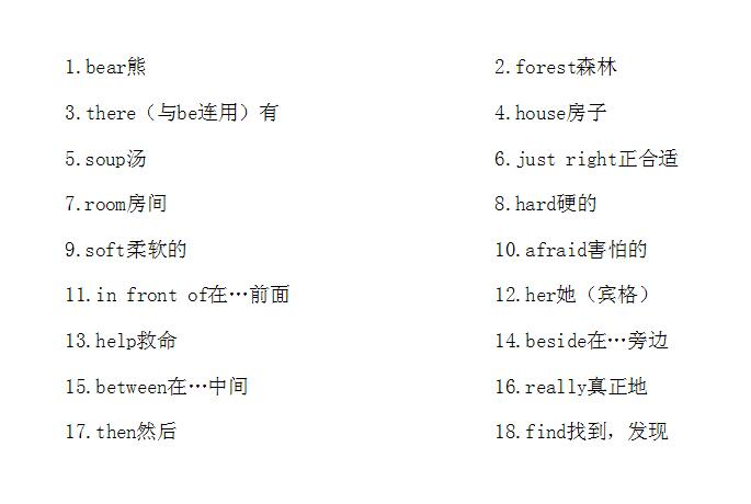 【知识点】译林版五年级上册英语第一单元重点单词