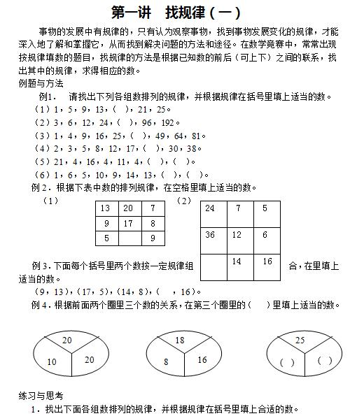 汇总丨初中五种数学作图基本概念和技巧