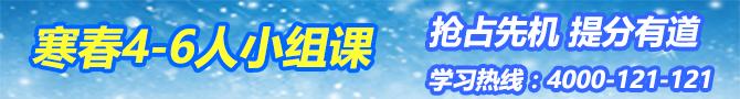 杭州寒春小组课-杭州智康一对一