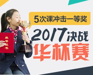 2017华杯赛冲刺课